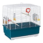 Ferplast Rectangular Shape Cage for Exotic Birds and Canaries, 49 x 30 x 48.5 cm 3