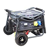SwitZer Petrol Gasoline Generator Electric Start With Battery Handle Wheel 3KW 7HP 4
