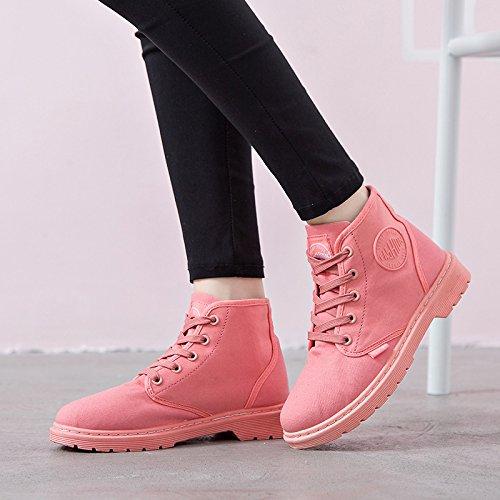 L'automne et l'hiver chaussons de bottes Martin de la mode en Europe et aux États-Unis des bottes bottes de dentelle