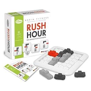 Thinkfun - 11192 - Jeu de logique  - Brain Fitness - Rush Hour
