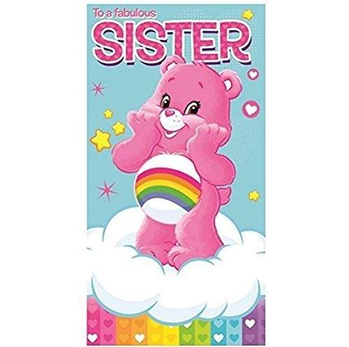 (Glücksbärchis-Geburtstagskarte für Schwestern)