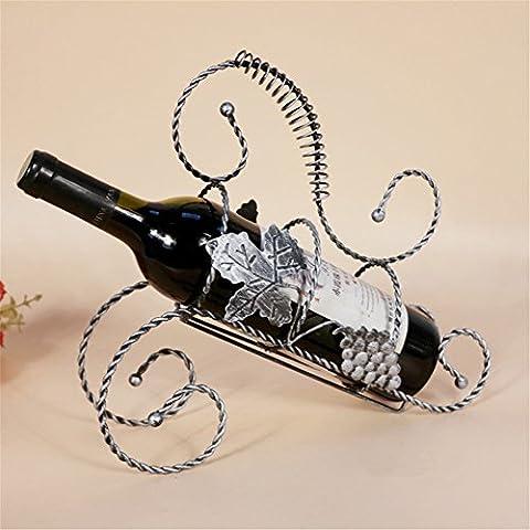 Vigvog rétro fer de vin Twist Vin Cadre Four-color en option, D, 29¡Á9.5¡Á26CM