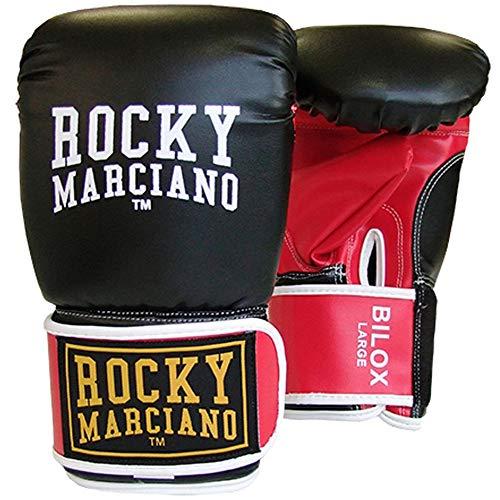 BENLEE Rocky Marciano Unisex- Erwachsene BILOX Artificial Leather Bag Mitts, Black/Red, XL