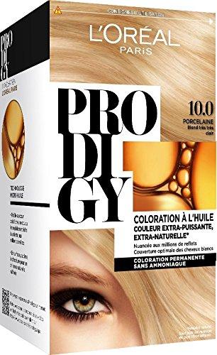 L'Oréal Paris Prodigy Coloration Permanente à l'Huile Sans Ammoniaque 10,0 Blond Très Très Clair