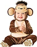 Deluxe Baby Mädchen Jungen Spitzbübisch AFFE Tier Halloween Charakter Kostüm Kleid Outfit - Braun, 0-6 Months, Braun