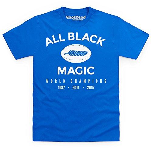 All Black Magic T-Shirt, Herren Royalblau