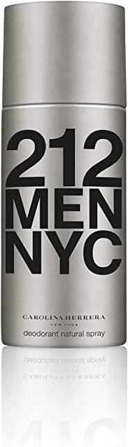 Carolina Herrera 212 NYC Men Deodorant Spray, 150ml