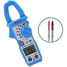 Pinza Multimetro Aidbucks MT200 Amperimetrica Polimetro Digital Medidor de Abrazadera AC / DC Electrico Comprobador de Corriente con Retroiluminación