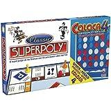 Falomir 646385 - Juego Doble Superpoly + Coloca 4