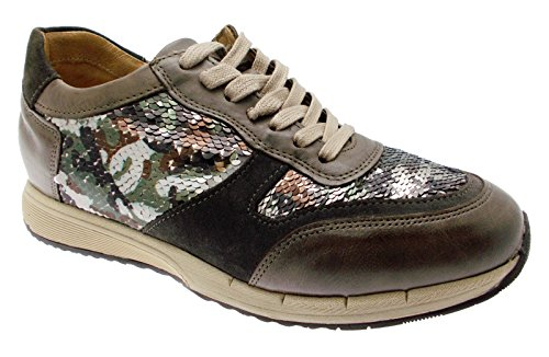 art C3717 scarpa donna ortopedica taupe militare sneaker 39 tortora