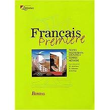 Français 1ère (Litterature)