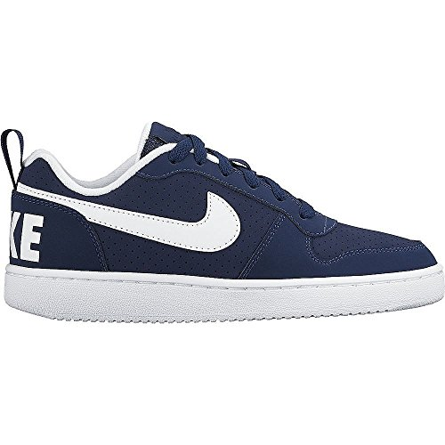 Nike 839985 400, Court Borough Low (GS) femme Midnight Navy/White