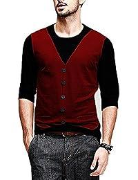 Veirdo Cotton Sinker Waistcoat Casual Wear For Men