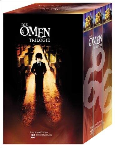 Bild von Die Omen-Trilogie (Jubiläums-Edition) [VHS]