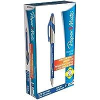 Paper Mate Flexgrip Elite Penna a sfera punta media blu _ p Confezione da 12 Blue