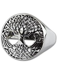 etNox-Ring ''Lebensbaum'' 925er Silber (R5501)