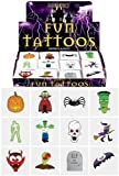 24 Halloween Tattoos / Transfers Trick or Treat Party Bag Fillers