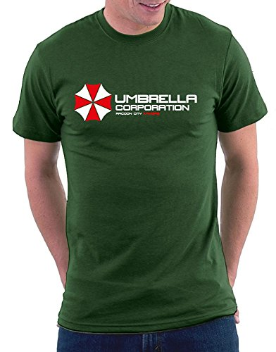 Umbrella Resident Evil T-shirt Bottle