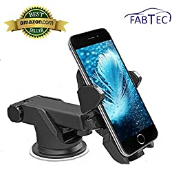 FABTEC Asuse Twist Smart Telescopic Universal Mobile Stand Premium Mobile Phone Car Mount Holder, 360° Rotable Holder For Maruti Baleno 2015