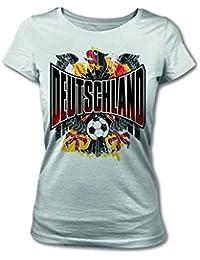 Deutschland Fanshirt 2014 Fanartikel Adler für Herren und Damen Fußball zur WM
