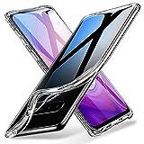 Cekuonline Samsung Galaxy S10 Kılıf Kapak Lazer Kesim 0.2 mm Ultra İnce Şeffaf Silikon