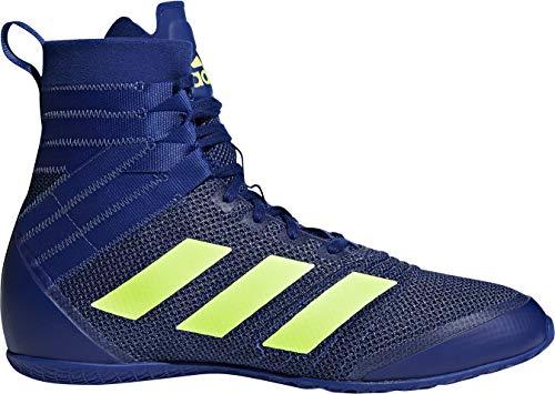 Adidas Speedex 18 - Botas de Boxeo Unisex para Hombre, Color Azul, Talla 42 EU