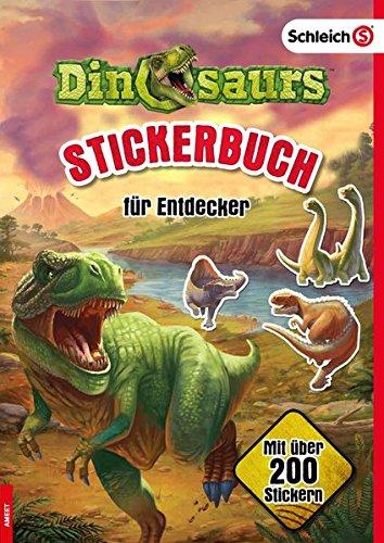 SCHLEICH® DinosaursTM Stickerbuch für Entdecker (Dinosaurier-sticker-buch)