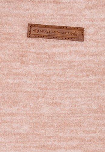 Naketano Female Hoody Pellkopp Sibi III Dusty Pink Melange