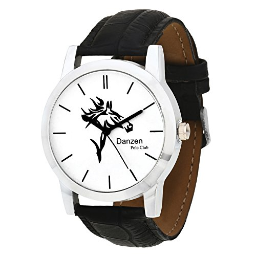 Danzen Polo club wrist watch for mens DZ-484  available at amazon for Rs.299