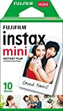 Fujifilm - Films Mini Instax - 86 x 54 mm - Monopack 10 Films
