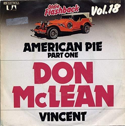 Don McLean - American Pie (Part One) / Vincent - United Artists Records (Don Mclean American Pie Vinyl)