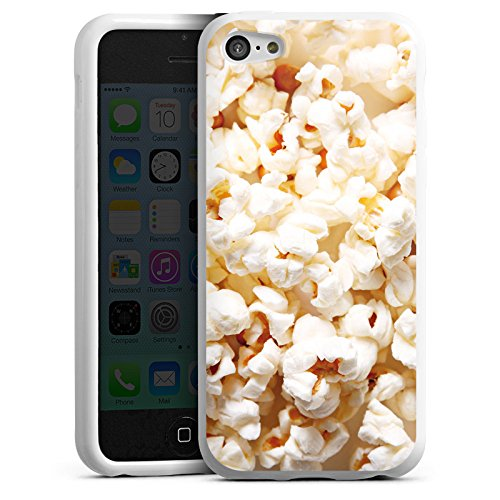 DeinDesign Silikon Hülle kompatibel mit Apple iPhone 5c Case Schutzhülle Kino Popcorn Poppin Corn - Case-kino Iphone 5c