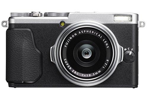 Fujifilm X70 - Cámara compacta, color plateado