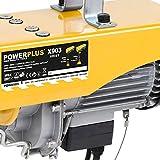 Powerplus Seilhebezug 1300W 400/800 kg – elektrische Seilwinde Seilzug Hebezug für Powerplus Seilhebezug 1300W 400/800 kg – elektrische Seilwinde Seilzug Hebezug