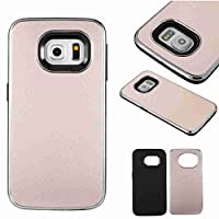 For Samsung Galaxy S6/G920 Case [With Tempered Glass Screen Protector],Grandoin(TM) Fashion Flexible Nice Drawing Printed Pattern Bumper Shell Case ,Excellent Quality Soft Silicone Rubber Extra Ultra Slim Thin TPU Colorful 2 in 1 Designs Double Protective Back Cover Case Perfect Fit for Samsung Gala