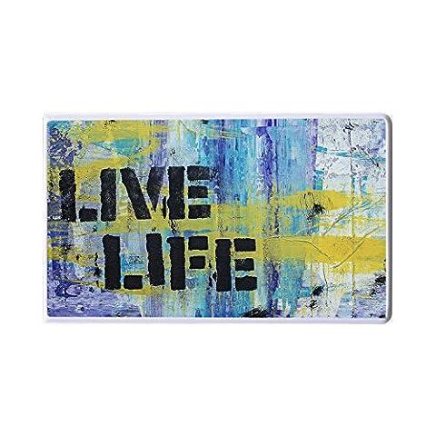 Live Life–Street art–– Art–ADDIES Power Bank–Graffiti Street Art