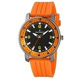 Radiant RA106603 - Reloj con Correa de Acero para Hombre, Color Negro/Gris