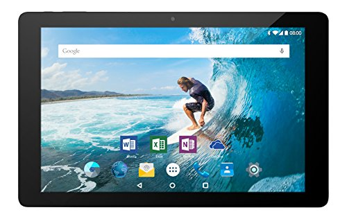 Odys Rapid 10 LTE 25,7 cm (10,1 Zoll) Tablet-PC (MTK 8735 Quad Core, 1GB RAM, 16GB HDD, ARM Mali T720 MP2, LTE Funktion, Android 5.1) schwarz