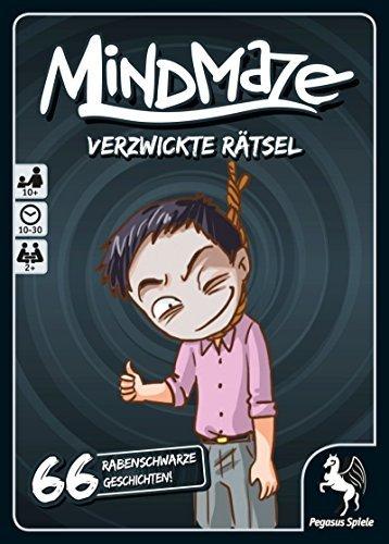 MindMaze - Verzwickte Rtsel: Rabenschwarze Geschichten [German Version] by Pegasus Spiele