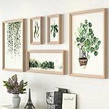 HBWJSH Wand-Fotowand der Fotowanddekoration Moderne minimalistische Album kreative kreative Wandkombination der Wand