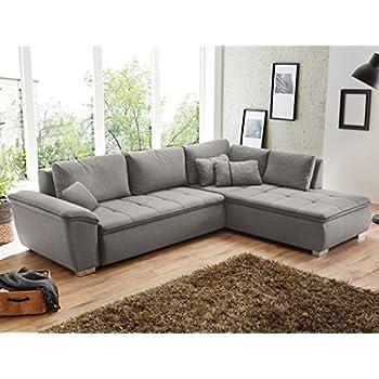 Dieser Artikel Wohnlandschaft Corvin 280x210 Cm Grau Funktionssofa Eckcouch Polsterecke Bettkasten Couch Sofa Wohnzimmer