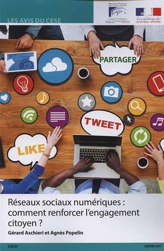 Réseaux sociaux numériques : comment renforcer l'engagement citoyen ?.-