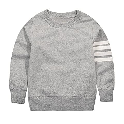 BOBORA Sweat-shirts a Manche Longue en Coton - Garcons 1-10Ans
