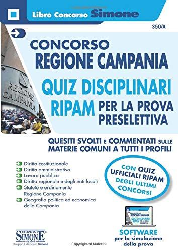 CONCORSO REGIONE CAMPANIA - QUIZ DISCIPLINARI