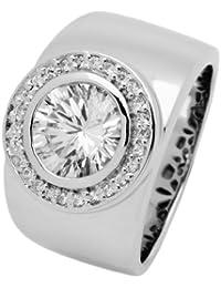 Burgmeister Jewelry Damen-Ring 925 Sterling Silber Gr. 58 (18.5) JHE1011-18
