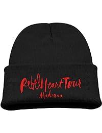 Fashion Kid's Cap Madonna Rebel Heart Tour Beanie Hat.