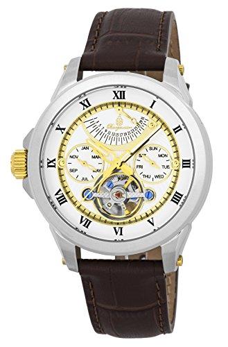 Burgmeister reloj caballero automático Colorado Springs, BM350-915, reloj zurdo