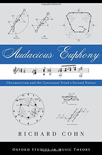 Audacious Euphony: Chromatic Harmony and the Triad's Second Nature (Oxford Studies in Music Theory) por Richard Cohn