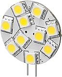 3er Set LED-Chip für G4 Lampensockel mit 10 SMD LEDs Leuchtfarbe tageslicht weiß 160LM