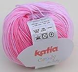 Katia Candy Fb 650 Babywolle Baumwolle Baumwollgarn mit Farbverlauf